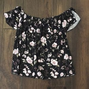 American Eagle soft and sexy off the shoulder top